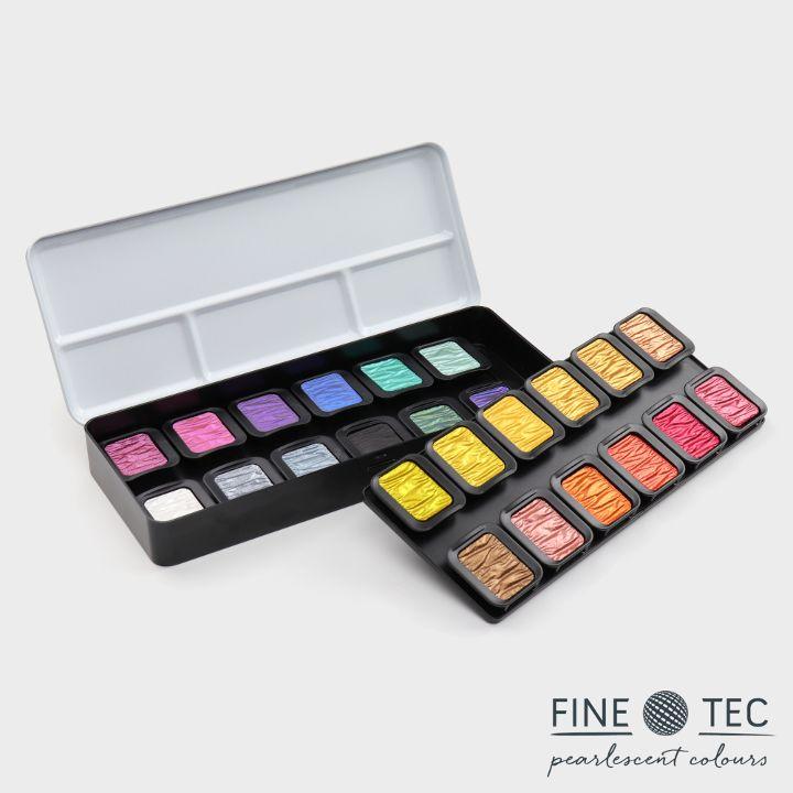"22 Perlglanzfarben + 2 Flip-Flop Farben ""Colourful"""