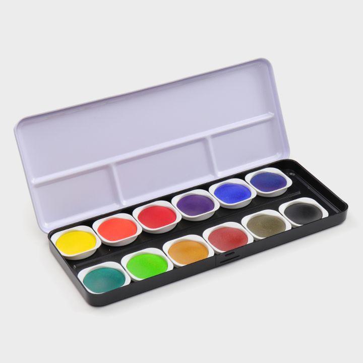 12 Aquarellfarben