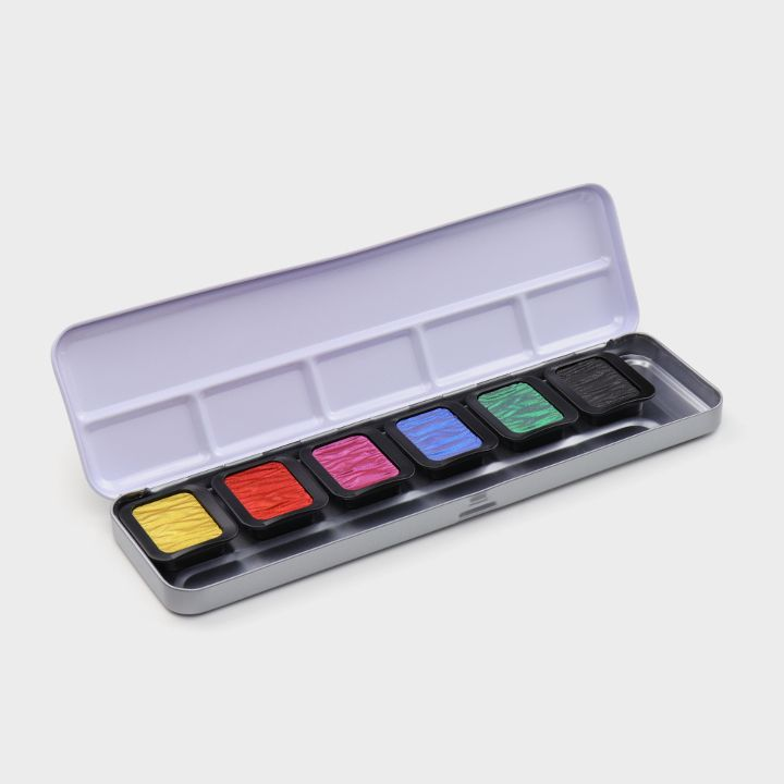 """6 Pearlescent Colours """"High Chroma"""""""