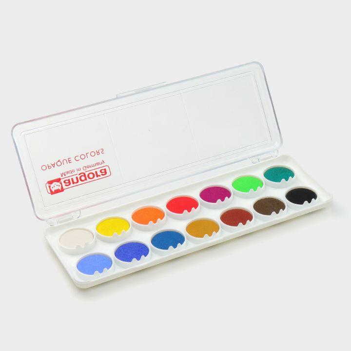 14 Gouache colours
