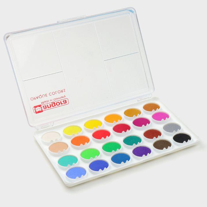 24 Gouache colours