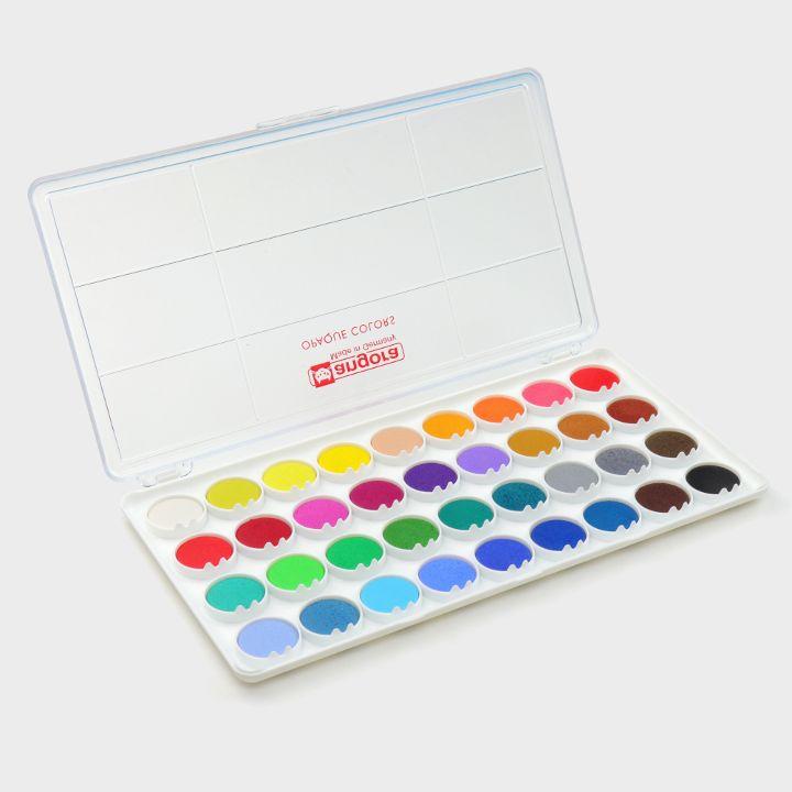 36 Gouache colours